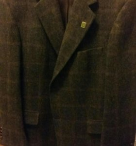 Твидовый пиджак 54-56р