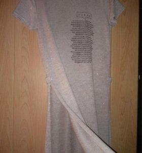 Платье с разрезами(42-46)