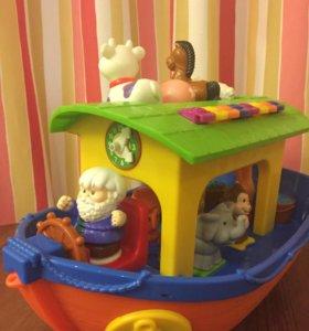 Развивающая игрушка Ноев ковчег