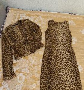 Платье и жакет.
