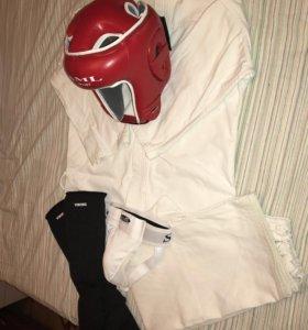 Кимоно, шлем, защита