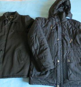 Куртки мужские,зима,р.50