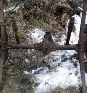 Колхозные мосты на Уаз