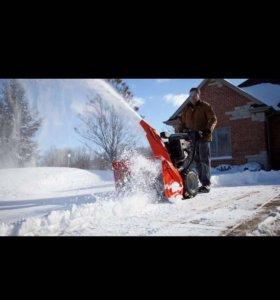 Аренда снегоуборщика