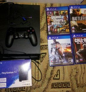 Продам Playstation 4, 1Тб