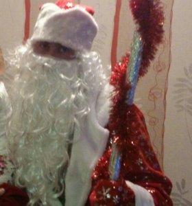 Костюм Деда Мороза на прокат.