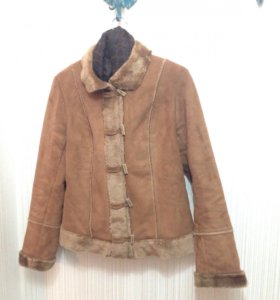 Куртка-дублёнка женская