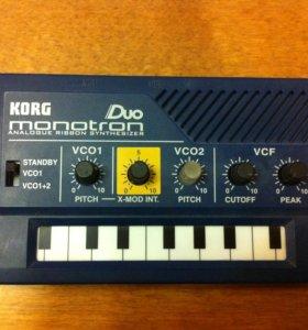 Ленточный синтезатор Korg Monotron Duo