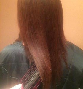 Кератиновое выпрямление волос-Cocochoco Gold