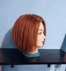 Болванка учебная, манекен голова