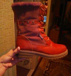 Зима ботинки