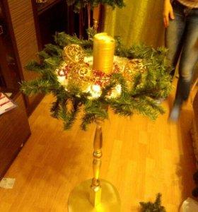 Подставка новогодняя