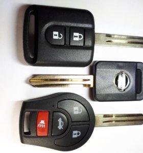 Ключ Ниссан Альмера