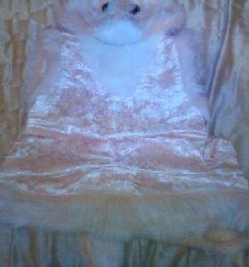 новогодний костюм кошечька