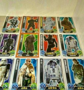 Карточки Star Wars