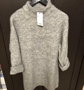 Новый пуловер-платье Mango