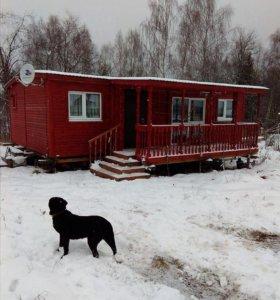 Дачный домик 6х9,2 с терассой с фундаментом