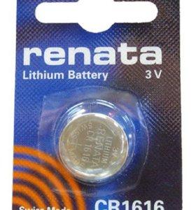 Элементы питания RENATA CR1616
