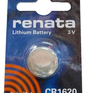 Элементы питания RENATA CR1620