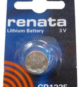 Элементы питания RENATA CR1225