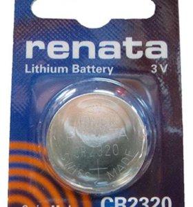 Элементы питания RENATA CR2320