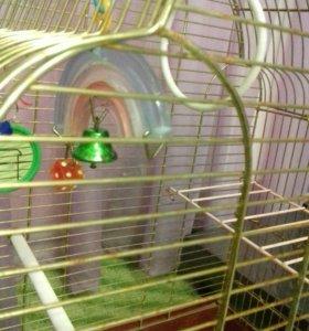 Клетка (большая)для попугая