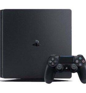 Sony PlayStation 4 Slim (500 GB)+3 игры+90дн подп