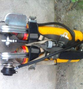 дыхательный аппарат на сжатом воздухе АСВ 2