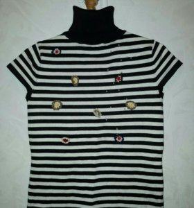 водолазка футболка трикотаж 42-46