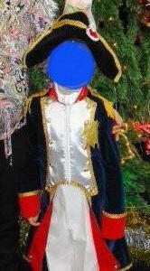 Новогодний костюм гусара