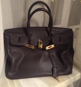 Hermes кожа сумка