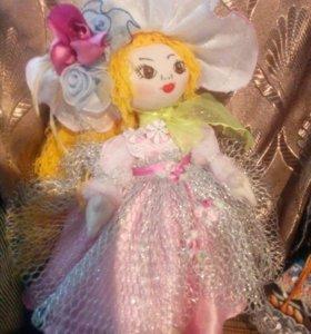 Куклы ручной работы. От 700 рублей.