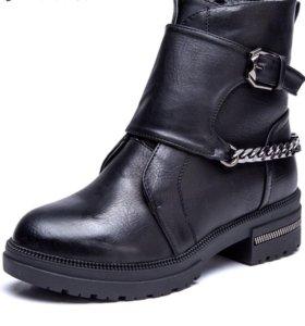 Новые зимние ботинки 40 размера