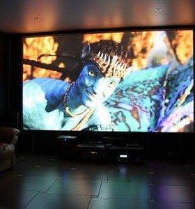 Проекционный экран-настенное полотно 120 дюйм