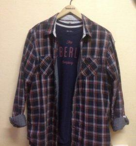 Рубашка и лонгслив Timberland