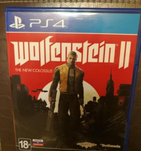 Wolfenstein 2: The New Colossus (Рус. вер.)PS4 б/у