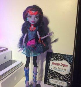 Кукла Monster High Джейн Булитл // Монстер Хай