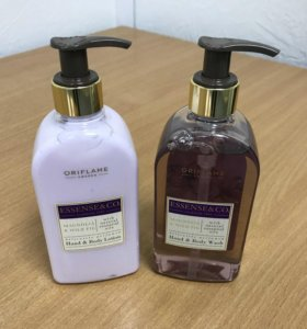 Набор. Жидкое мыло и лосьон для рук и тела