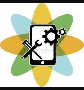 Честный ремонт телефонов, планшетов, ноутбуков