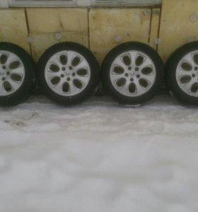 Оригинальные диски Honda с резиной Bridgestone