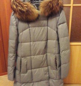 Пуховик пальто б/у зимний