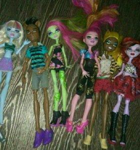 Куклы монстр