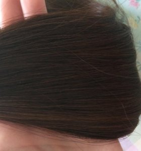 Натуральные волосы на карсулах