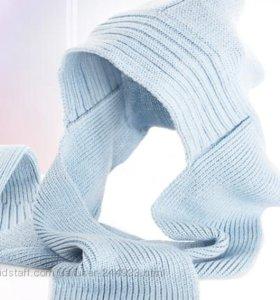 шарф с копюшоном