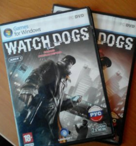 Игра на компьютер WATCH DOGS