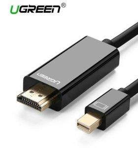 Кабель Mini DisplayPort к hdmi Ugreen Thunderbolt