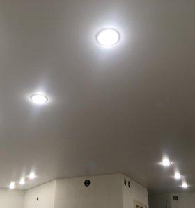 Натяжные потолки в короткие сроки