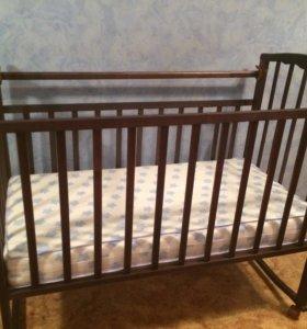 Кроватка детская +матрас