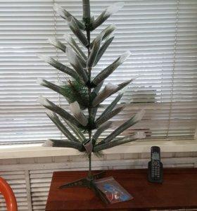 Искусственная елка пушистая длина 100 см