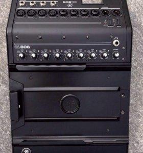 Mackie DL806, цифровой микшерный пульт (8 каналов)